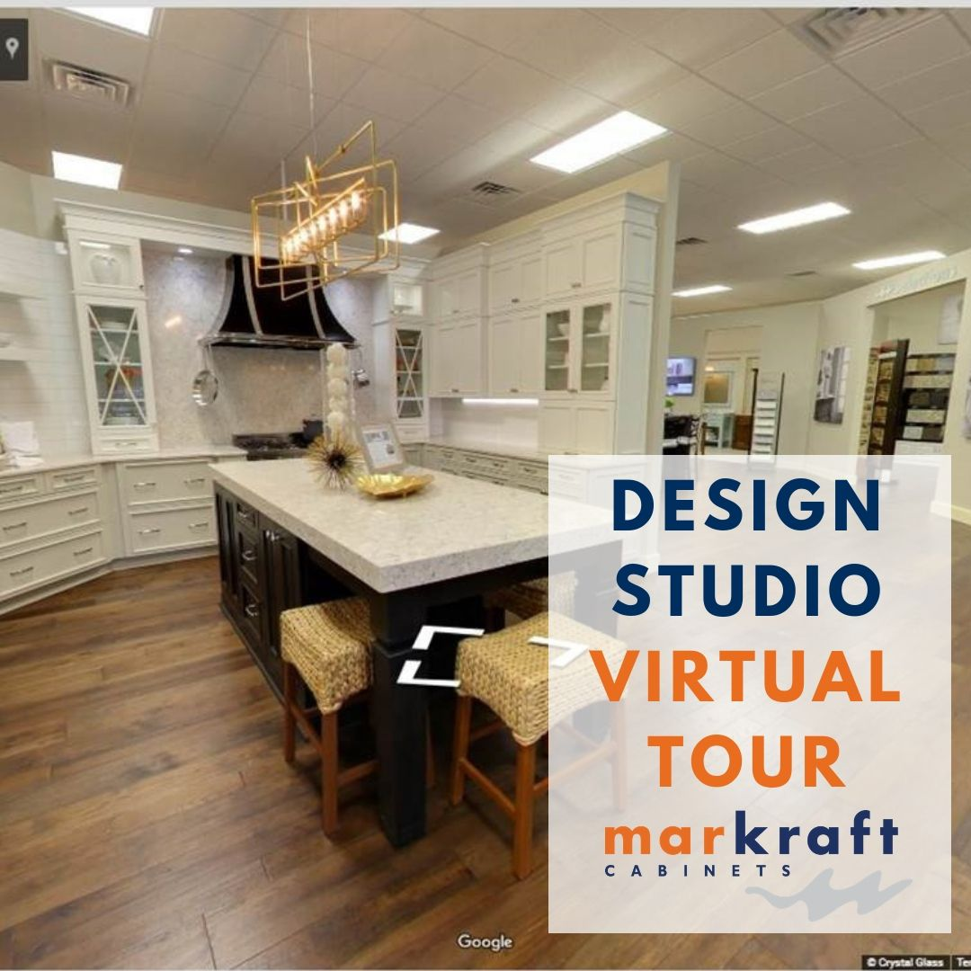 Explore Our Wilmington Design Studio In 360 Then Come Visit Us To See All The Latest Trends Www Markraft Co Kitchen Examples Custom Kitchens Custom Cabinets
