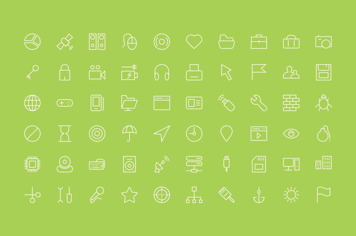 100 Internet Vector Line Icons Line Icon Internet Icon Icon