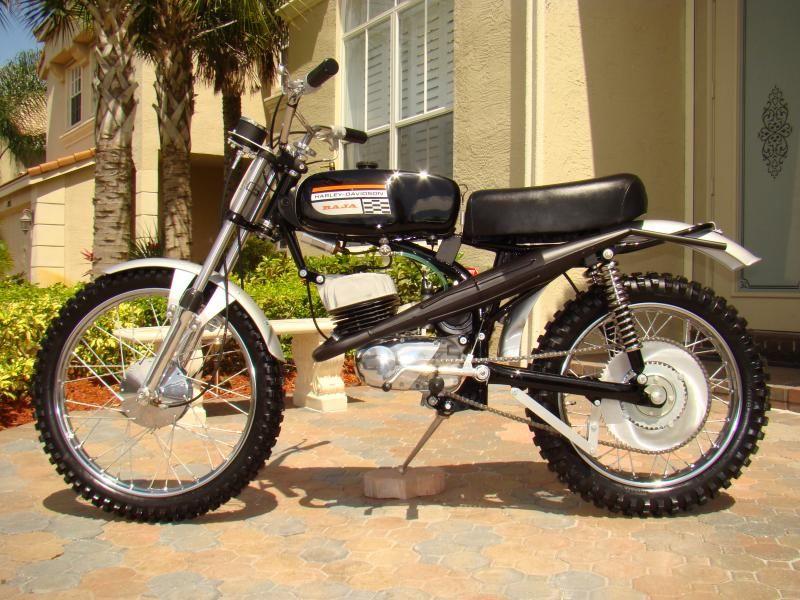 Baja Msr 100 Amf Harley Davidson Amf Harley Harley Dirt Bike Harley Davidson