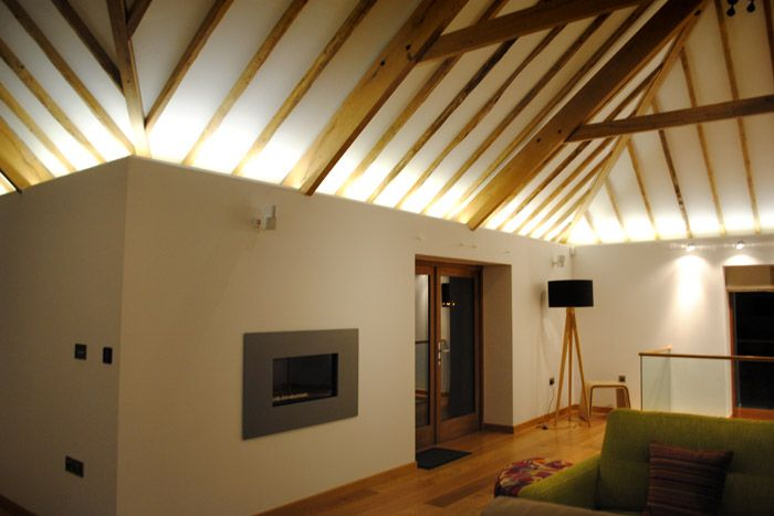 Architecture with use of light google search space and for Led lights for high ceilings
