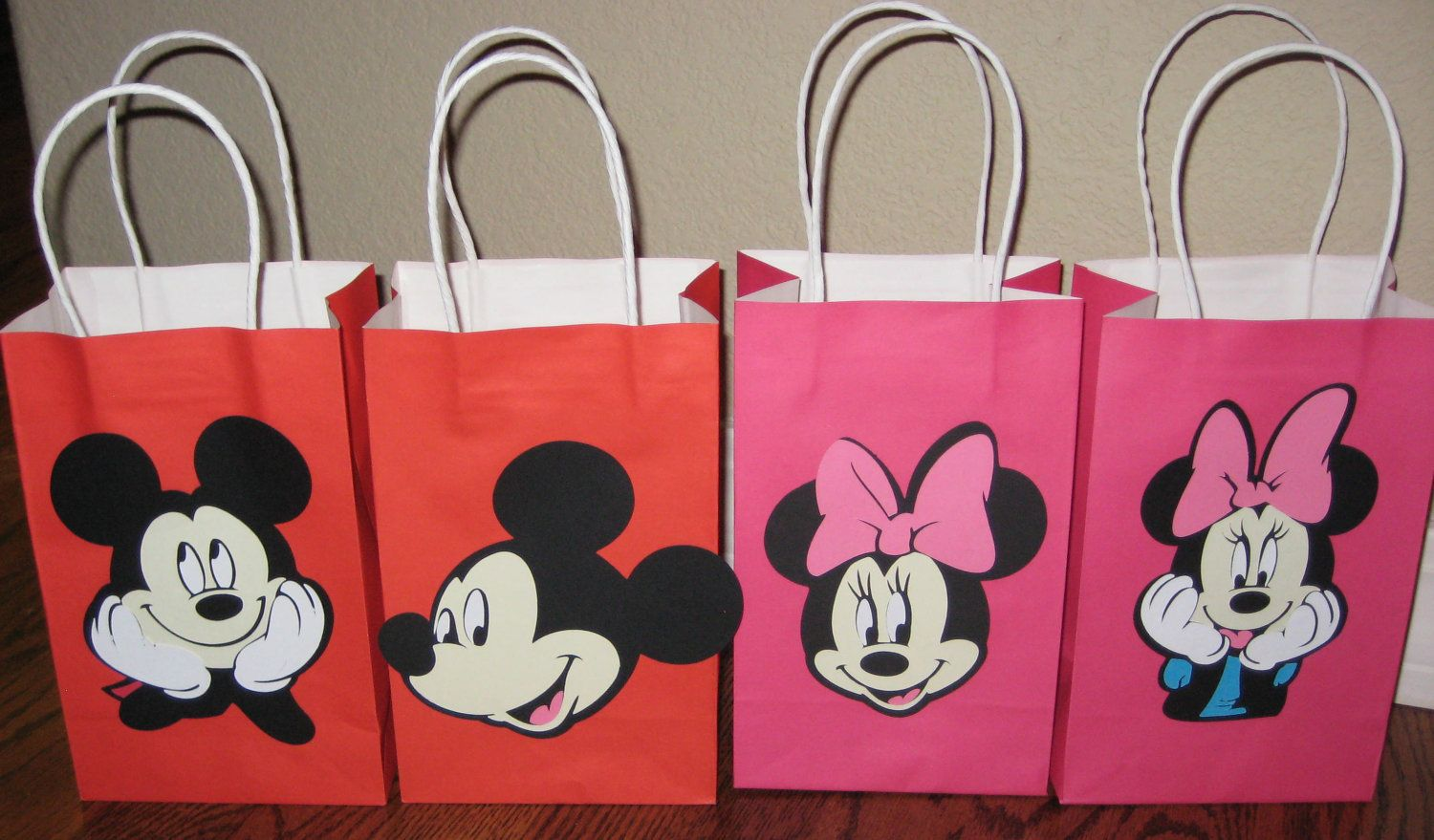 Items Similar To Mickey Mouse Minnie Party Goo Treat Loot Bags On Etsy