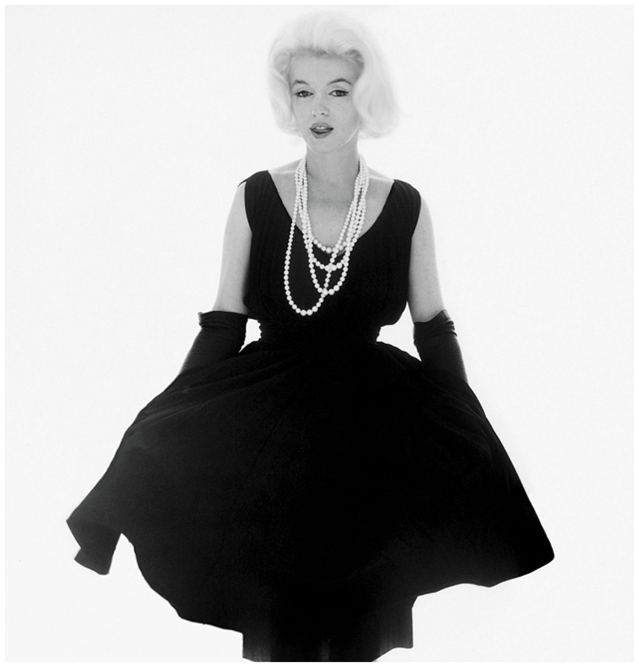Image result for marilyn monroe wearing dior