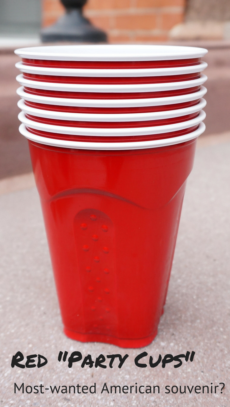 Red Solo Cups Or American Party Cups Surprising Souvenirs Party Cups Plastic Party Cups Cup