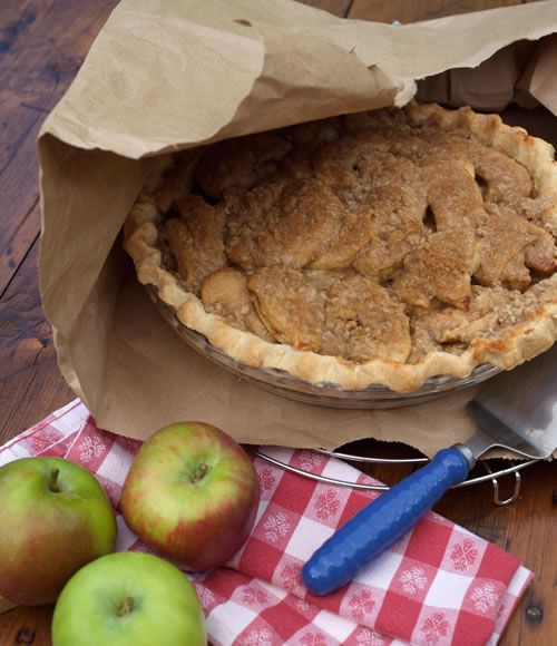 apple pie with a brown paper bag desserts pinterest apple pie