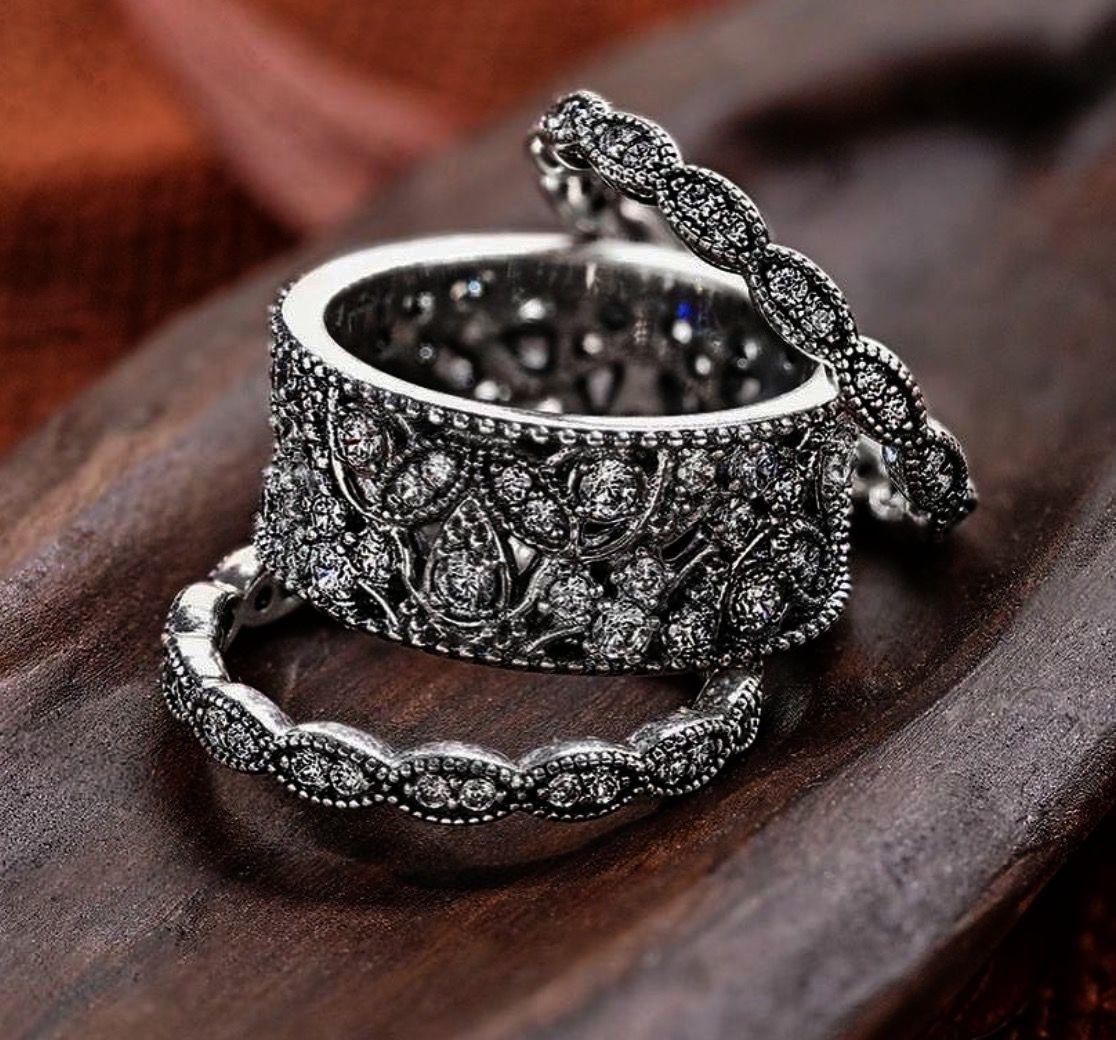 Pandora elegant pearl ring rose gold pandora leaf ring pandora