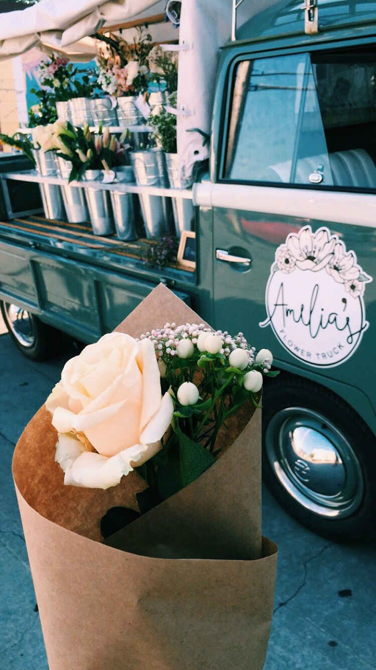 Flower Trucks Are The Way To My Heart Thanks 12th South Amelias