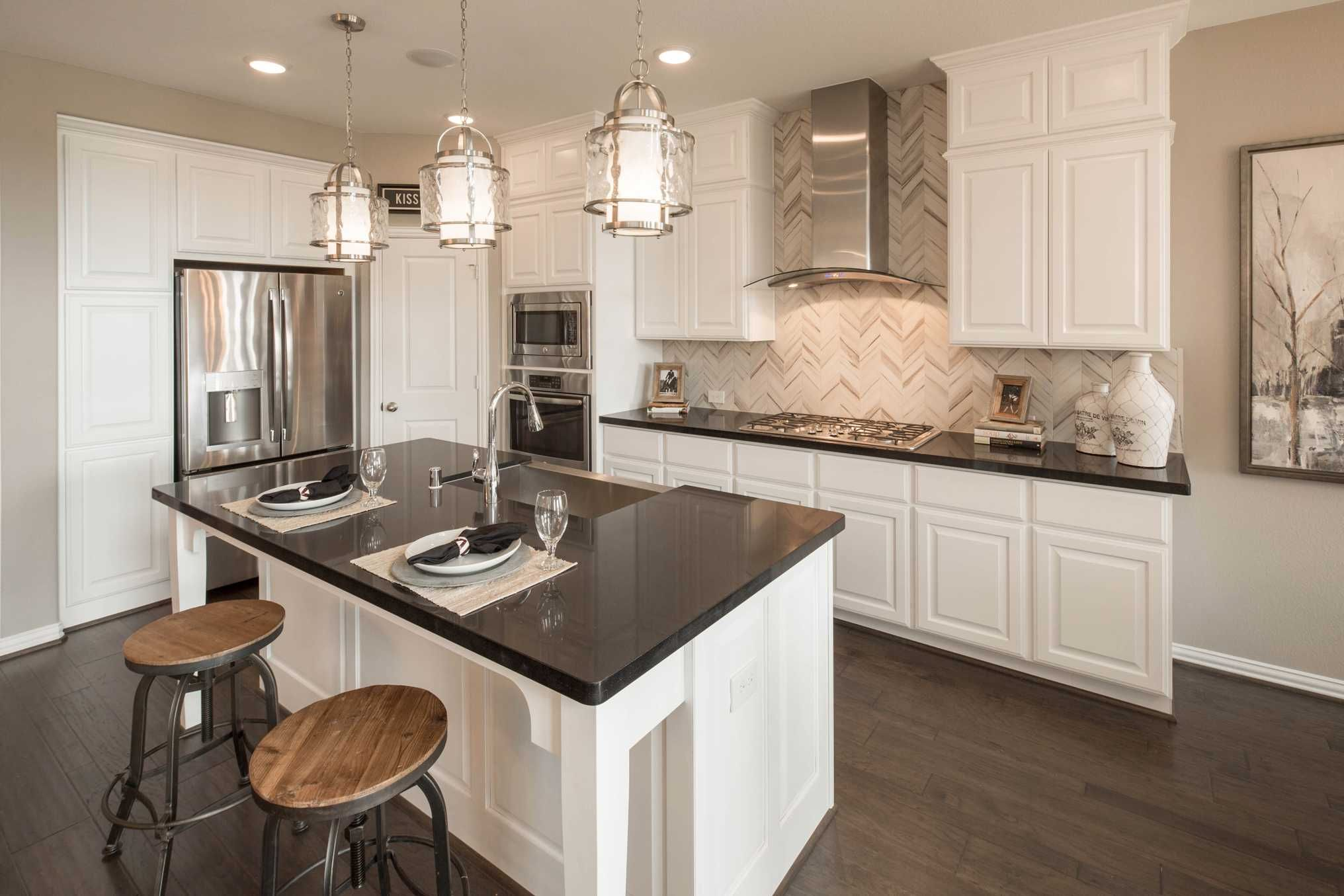 Kitchen Design Houston Stunning Highland Homes Plan 559 H Model Home In Houston Texas Cross Creek Design Inspiration