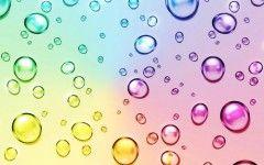 Color bubbles wall