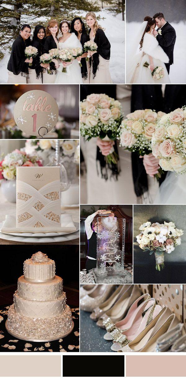 Top 10 Winter Wedding Color Combos 2016 Elegantweddinginvites Com Blog Winter Wedding Colors Elegant Winter Wedding January Wedding Colors