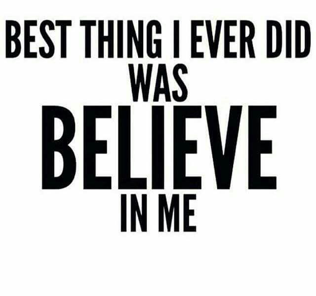 Self Quotes Never Doubt Yourself #believeinyourself #doyou #dreambig #goforit .