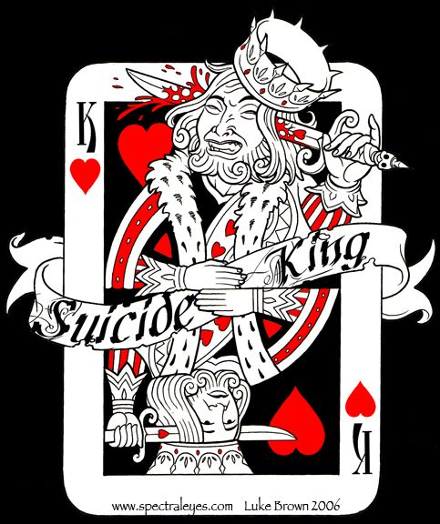 Suicide king picture motorcycles build ideas for Suicide kings tattoo