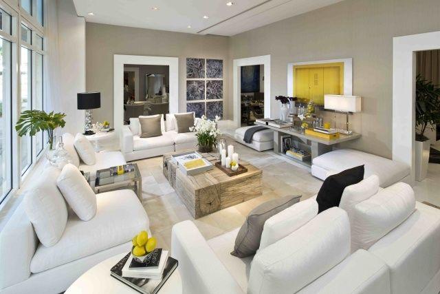 Peinture salon grise - 29 idées pour une atmosphère élégante