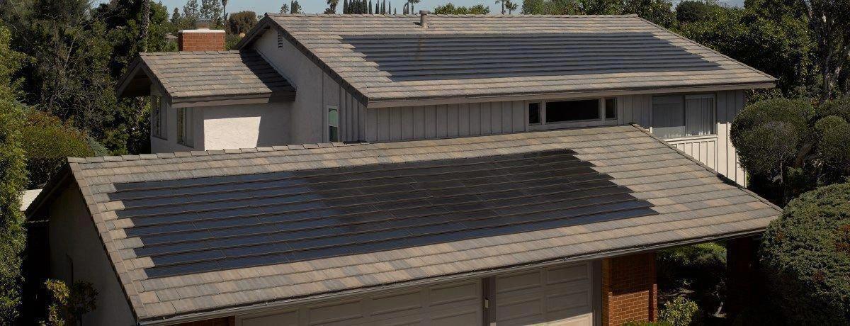 Tesla Shows Off Solar Roof Tiles Bbc News Tesla Solar Roof Solar Roof Tiles Solar Panels