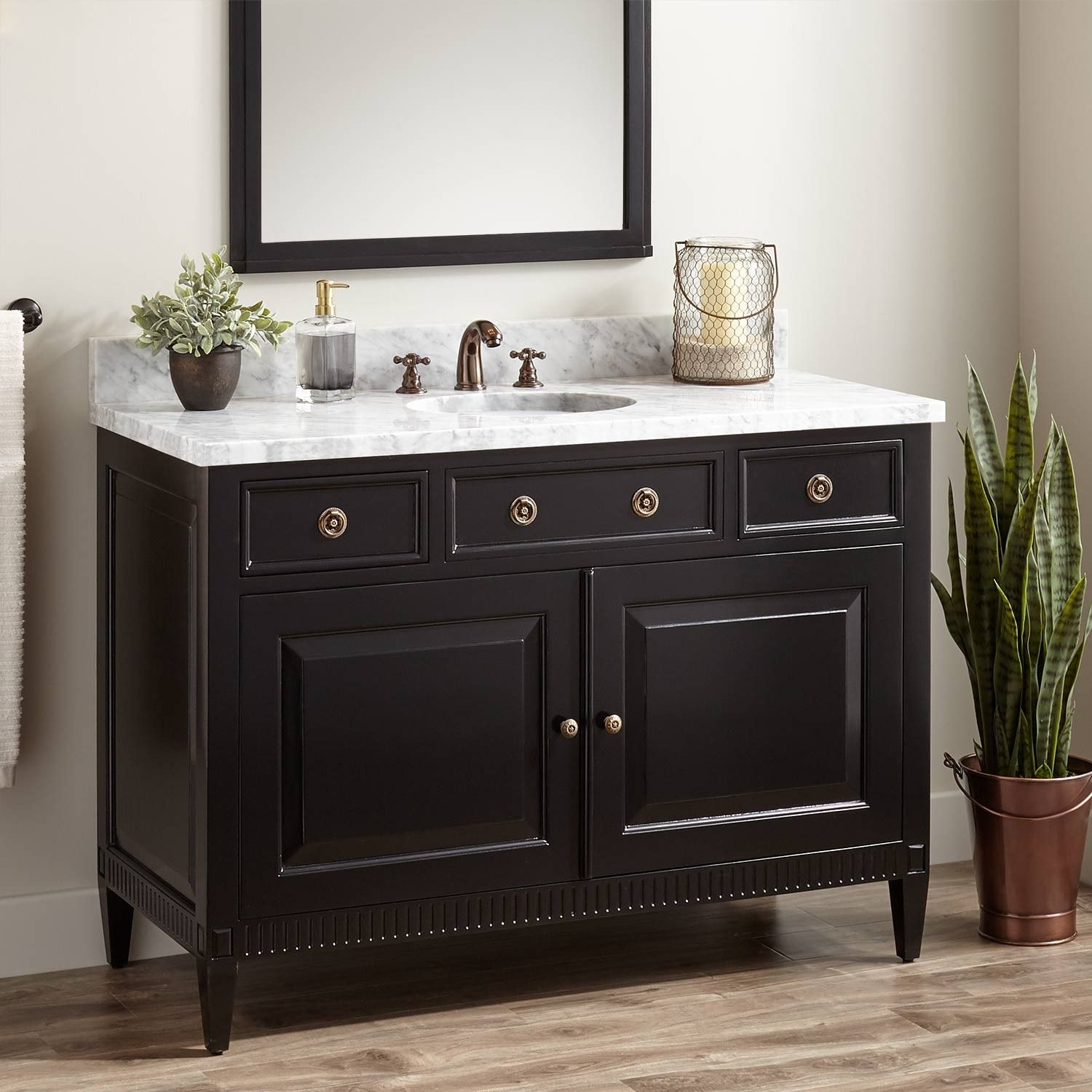 Mahogany Vanity For Undermount Sink