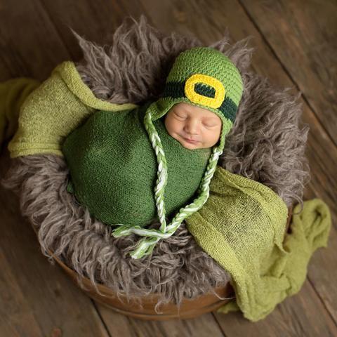 669dae7dc Little Leprechaun Baby and Toddler Hat | Crochet Hats for Newborn ...