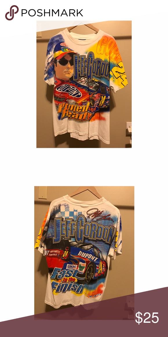Vintage Jeff Gordon NASCAR T-Shirt I have a used vintage Jeff Gordon ...