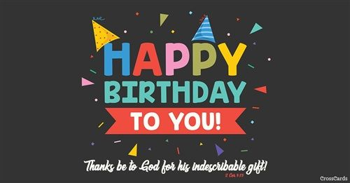 ECard To A Friend Or Family Member Send Free Birthday Ecards Your Friends And Quickly Easily On CrossCards Share An Animated