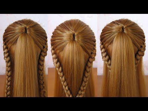 10 SEMIRECOGIDOS  Peinados Faciles y Rapidos con Trenzas para toda