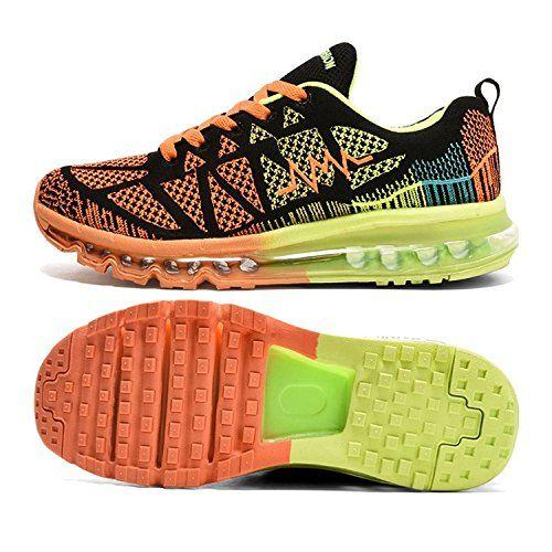 T-Gold Zapatos para Correr en Montaña y Asfalto Aire Libre y Deportes  Zapatillas de Running Padel para Hombre Mujer #Gold #Zapatos #para #Correr  #M… ...
