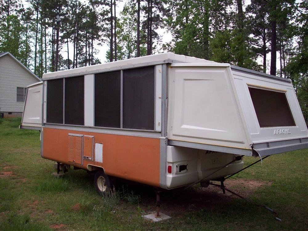 1976 Apache Ramada Hardside Pop Up Camper Georgia Outdoor
