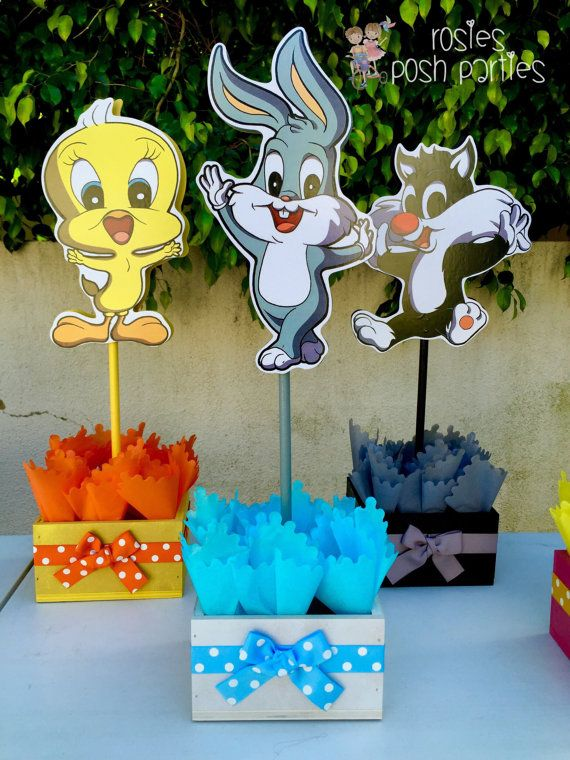 Baby Looney Toons Baby Shower Theme : looney, toons, shower, theme, Looney, Tunes, Shower, RosiesPoshParties, Tunes,, Party,