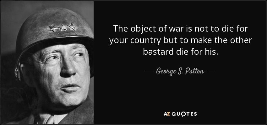 George Patton Quotes George Spatton Quote  Wwii Fighting And Facts  Pinterest