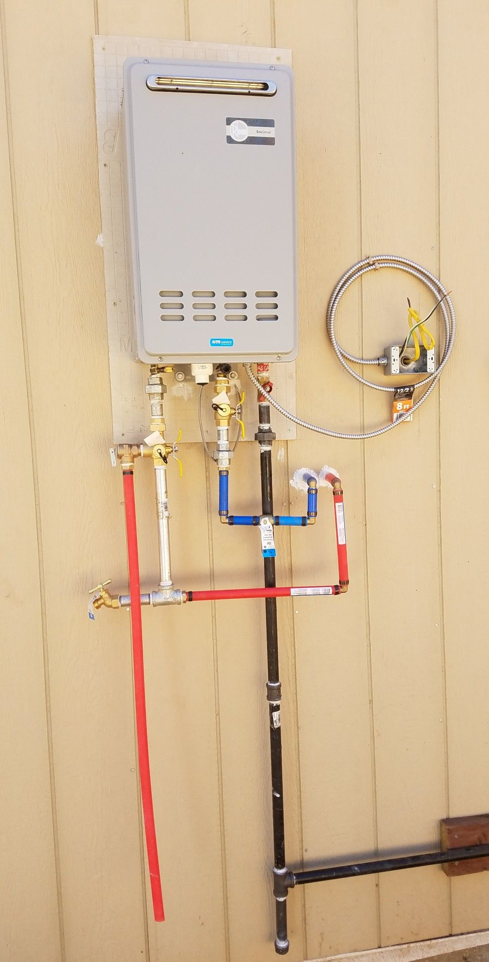 Pin By Raymond Vargas On Fnshandyman Exterior Instant Hot Water Heater Water Heater Home Appliances Hot Water Heater