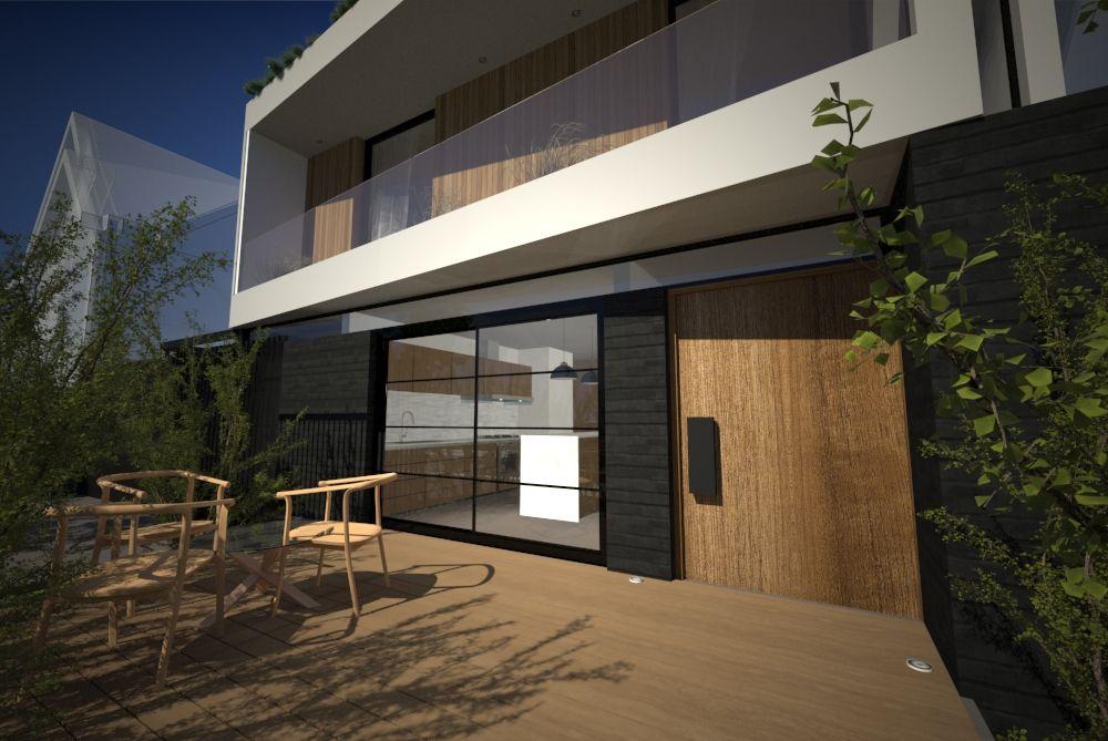 estudio44 arquitectura (@estudiol44) Joaquin casano arquitecto - peinture de facade maison