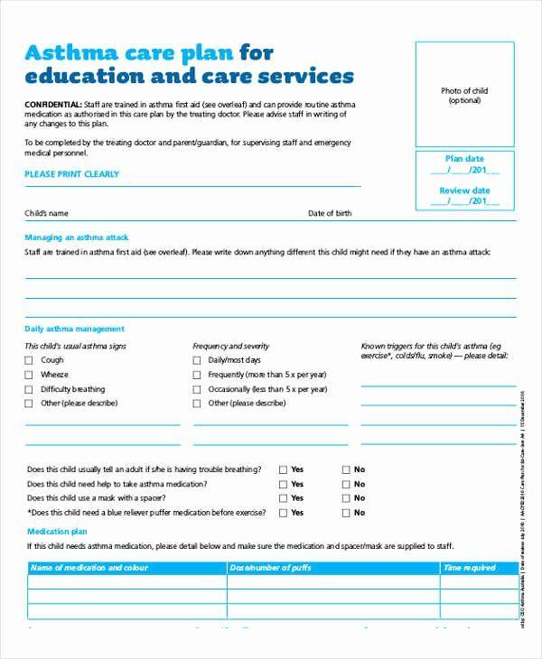 Nursing Teaching Plan Template Beautiful ️ Care Plan for ...