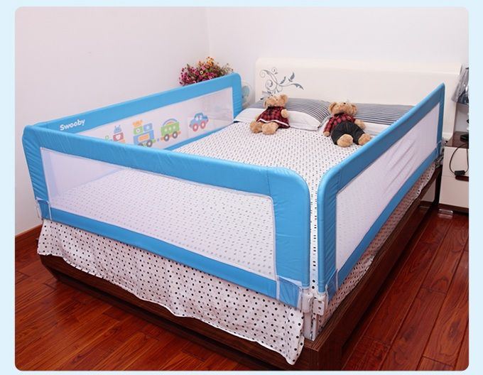 child safe bed rail full size buscar con google i want. Black Bedroom Furniture Sets. Home Design Ideas