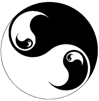 Yin Yang Symbol Yin And Yang Pinterest Yin Yang Yin Yang