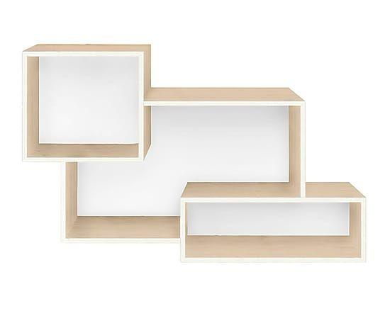 Estantería en madera de pino Mix - blanco   micro   Pinterest   Pino ...