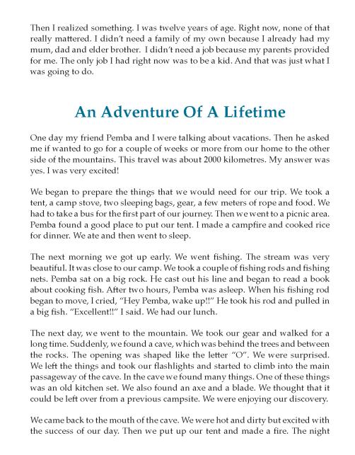 Narrative essay topics 8th grade annotated bibliography editing services gb