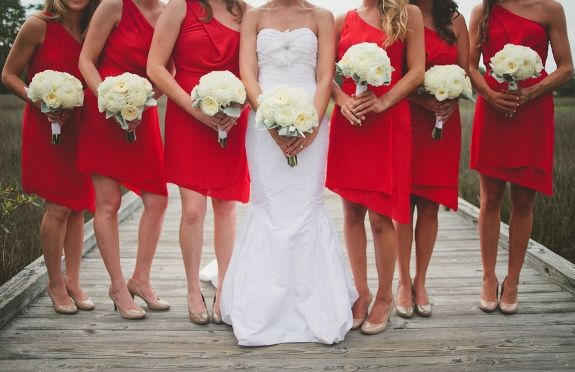 Lowcountry Weddings Daniel Island Club Bri Mcdaniel Photography Red Wedding Charleston
