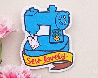 Cucire Shrink bella macchina da cucire, spilla plastica fatta per ordine