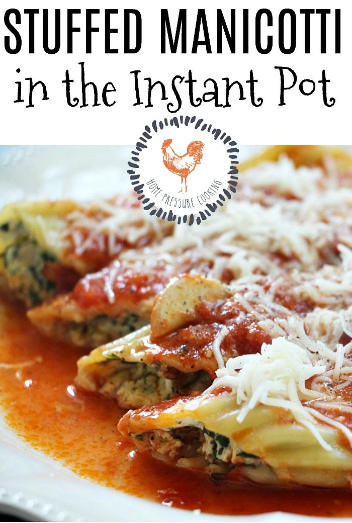how to cook manicotti shells