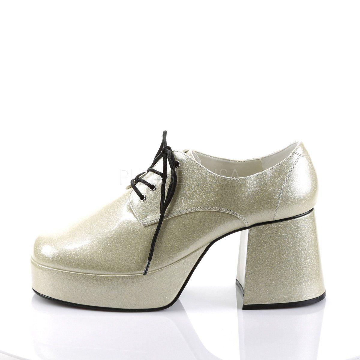 9337efed926 Funtasma - JAZZ-02G - Pearlized Silver Glitter - Men s Shoes ...
