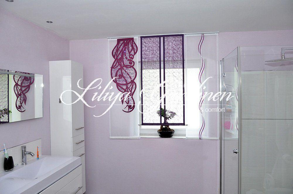 gardinen bad. Black Bedroom Furniture Sets. Home Design Ideas
