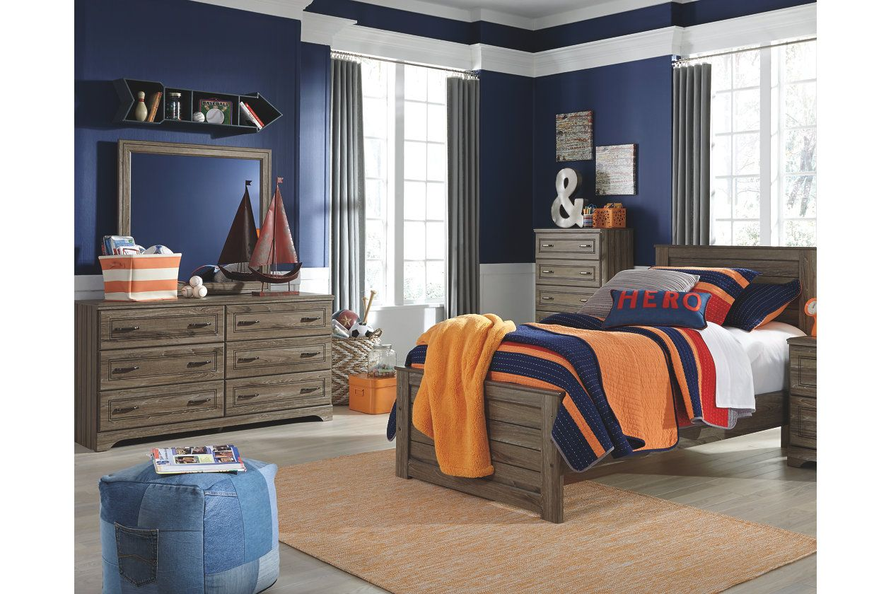 javarin 5 piece twin panel bedroom ashley furniture homestore