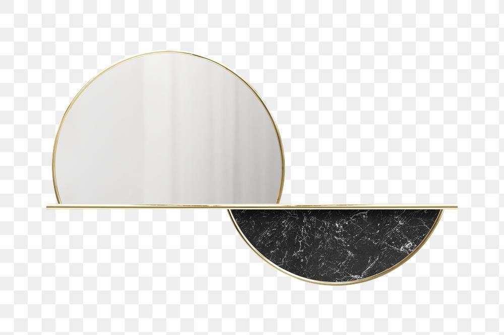 Semicircle Gold Framed Mirror Transparent Png Premium Image By Rawpixel Com Ployploy Gold Framed Mirror Mirror Frames Marble Frame