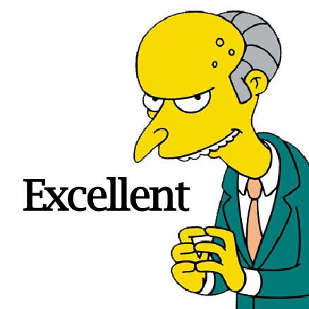 Image result for excellent mr burns