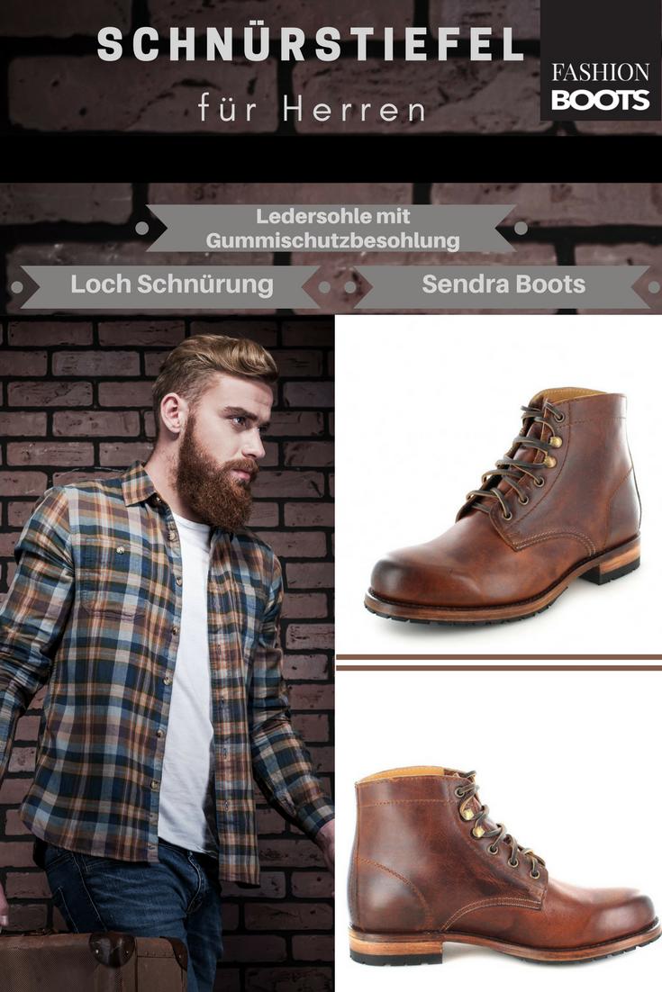 men style schnürstiefel
