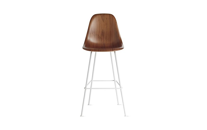 Prime Eames Molded Wood Barstool Dwhbx Rowe Living Breakfast Machost Co Dining Chair Design Ideas Machostcouk