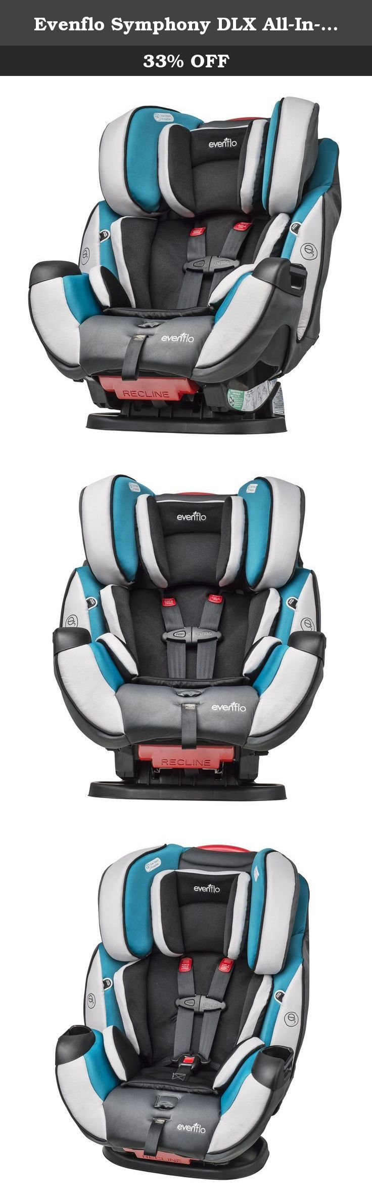 Evenflo Symphony DLX All In One Convertible Car Seat Modesto The