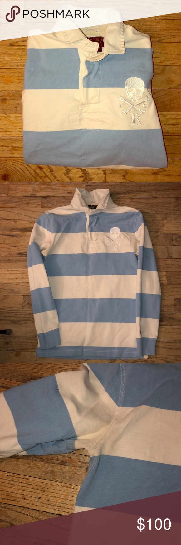 Rugby Polo Ralph Lauren Shirt Good condition had since 2008. Very vintage slim fit polo shirt. Color...