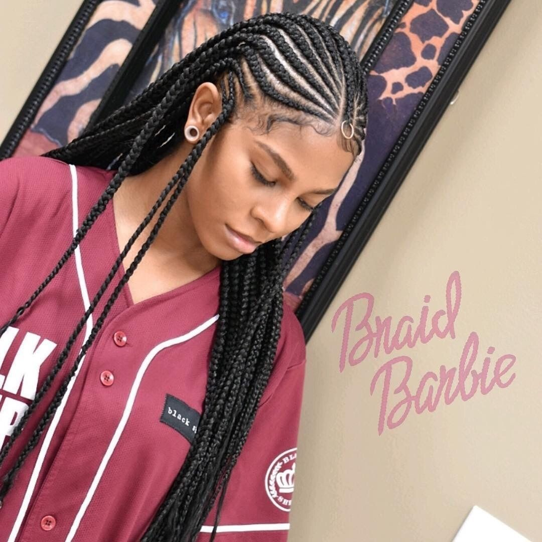 Braided Hairstyles For Black Girls Pindivalyssa On Hair  Pinterest  Black Girls Hairstyles