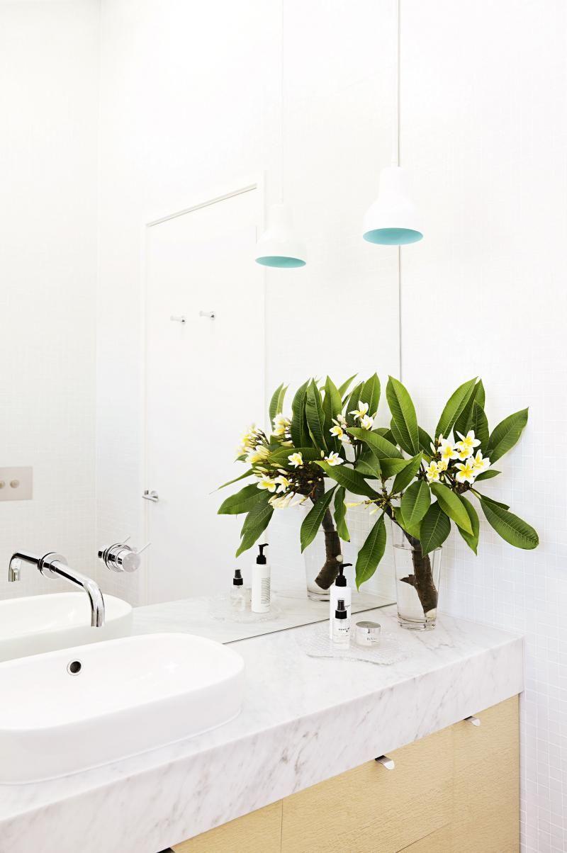bathroom white marble bench frangipani decorating pinterest