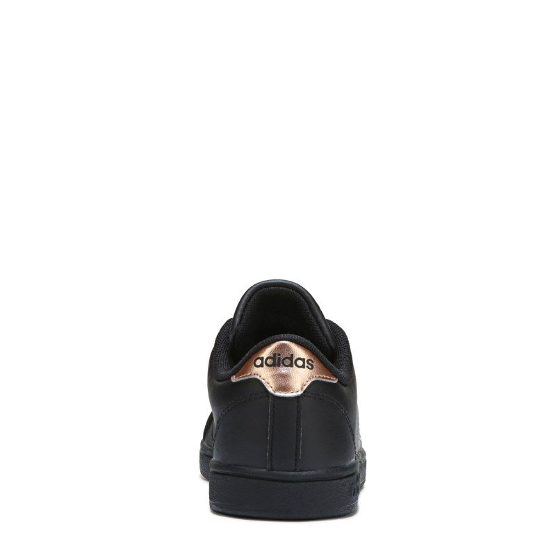 2be4ec939a737e Adidas Kids  Baseline Fashion Sneaker Pre Grade School Shoes (Black Rose  Gold)