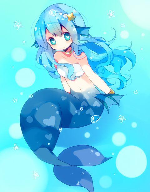 Pin By Devin Naughton On Monster Girl Anime Mermaid Anime Chibi