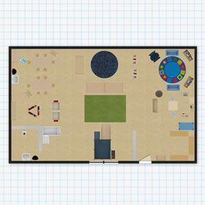 Two Year Old S Classroom Floor Plan Classroom Floor Plan